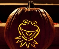 Kermit the Frog Pumpkin Carving