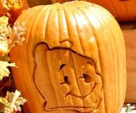 Winnie the Pooh Pumpkin Art