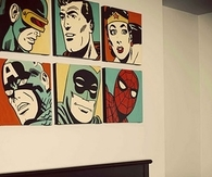 Comic Baby Boys Room