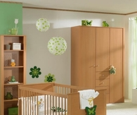 Earthly nursery decor