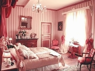 Traditional French Pink Bedroom