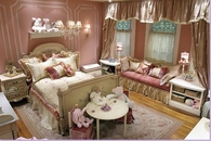 Old Fashioned Pink Girl's Room