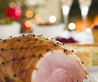 Honey roast ham