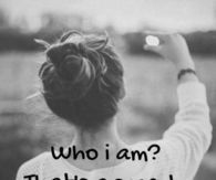 Who i am? Thats a secret