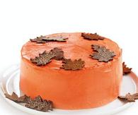 Fallen leaves cake