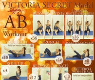 DIY Victoria Secret Ab Workout
