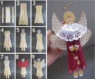 DIY Winter Angel