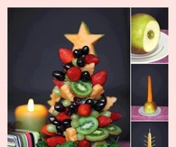 DIY Christmas Fruit Tree
