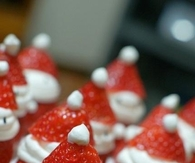 Christmas Santa Strawberries