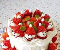 DIY Christmas Santa Cake