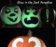 DIY Glow In The Dark Pumpkins