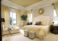 Cream bedroom decor