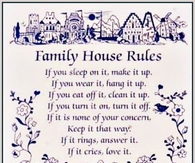 family house rules