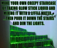 Make your own creepy staircase