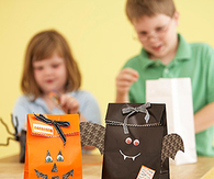 Character treat bags