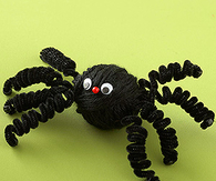 Yarn wrapped spider