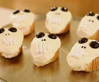 Sweet skull cupcakes