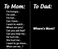 wheres mom