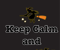 Keep calm and happy halloween