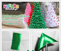 Ribbon Craft Ideas Ribbon Christmas Trees Pictures Photos And