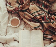 Bed, coffee, and a good book