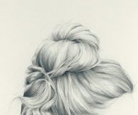 Braided bun sketch