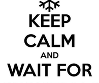 Keep calm and wait for christmas