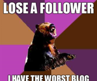 Lose a follower