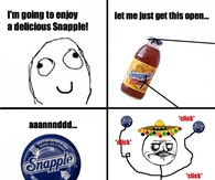 Im going to enjoy a delicious snapple