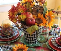 Autumn Tablesetting