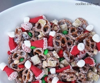 DIY Santa Party Mix