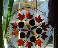 Autumn Leaves for Window Decoration