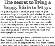 Secret To Happy Life