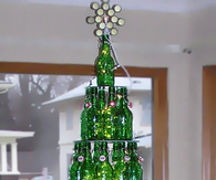 DIY Beer Bottle Tree