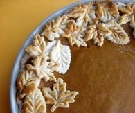 Pumpkin Pie Crust Trim
