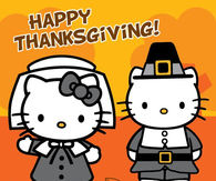 Hello Kitty Thanksgiving