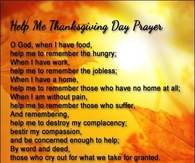 thanksgiving day prayer
