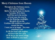 Merry Christmas From Heaven Poem Printable.Christmas In Heaven Quotes Pictures Photos Images And