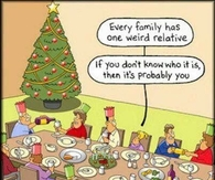 one weird relative