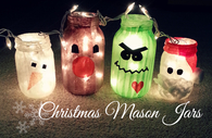 DIY Christmas Mason Jars