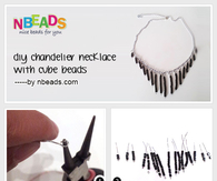 DIY Necklace Pendant - Make A Beaded Pendant