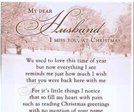 Missing My Husband at Christmas Time