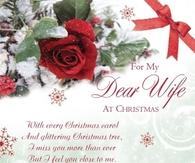 My Dear Wife At Christmas