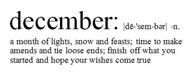 Definition of December