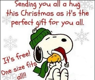 sending you a christmas hug