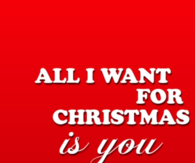 All I Want For Christmas Is You Quotes Tumblr All i want for christmas