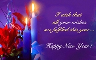 I wish all your wishes are fulfilled this year...