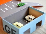 Shoebox car garage