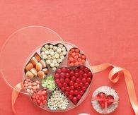 Modern valentine candy
