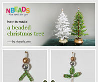 How to Make A Beaded Christmas Tree